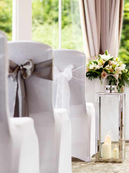 wedding chair covers burton on trent stackable chairs costco beautiful staffordshire venue mercure upon the aisle in conservatory detail ceremony