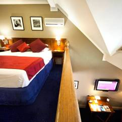 Twin Pull Out Sofa Cushion Covers Only Accommodation Canberra - Deluxe Loft Room | Mercure Hotel ...