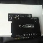 E60前期 i-driveのアナログテレビを地デジ化&テレビキャンセラー