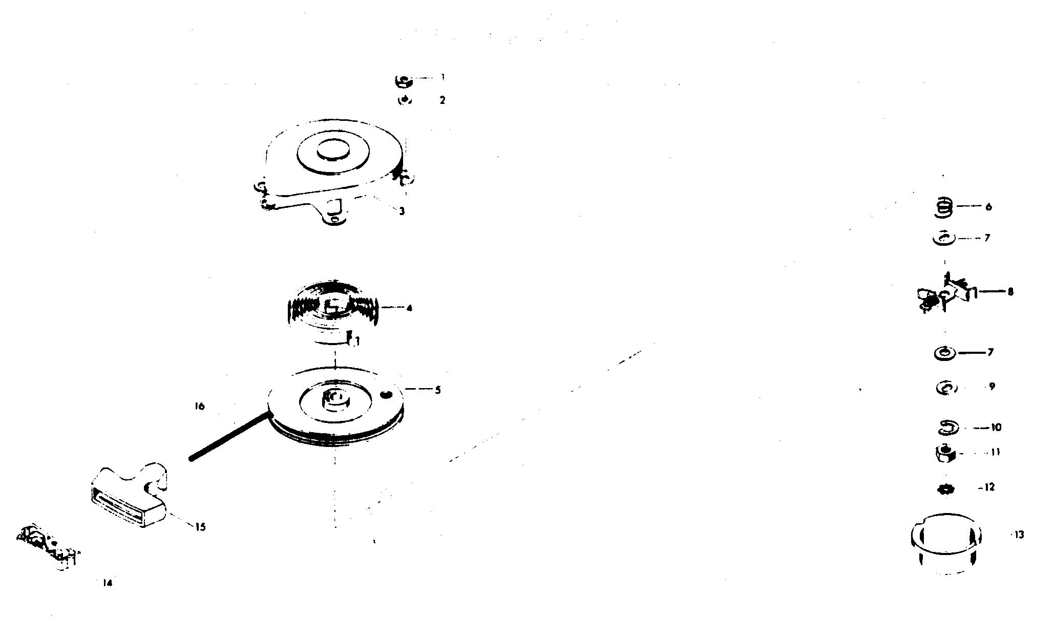Каталог запчастей CHRYSLER 5 (1976) 54HD — Запасные части