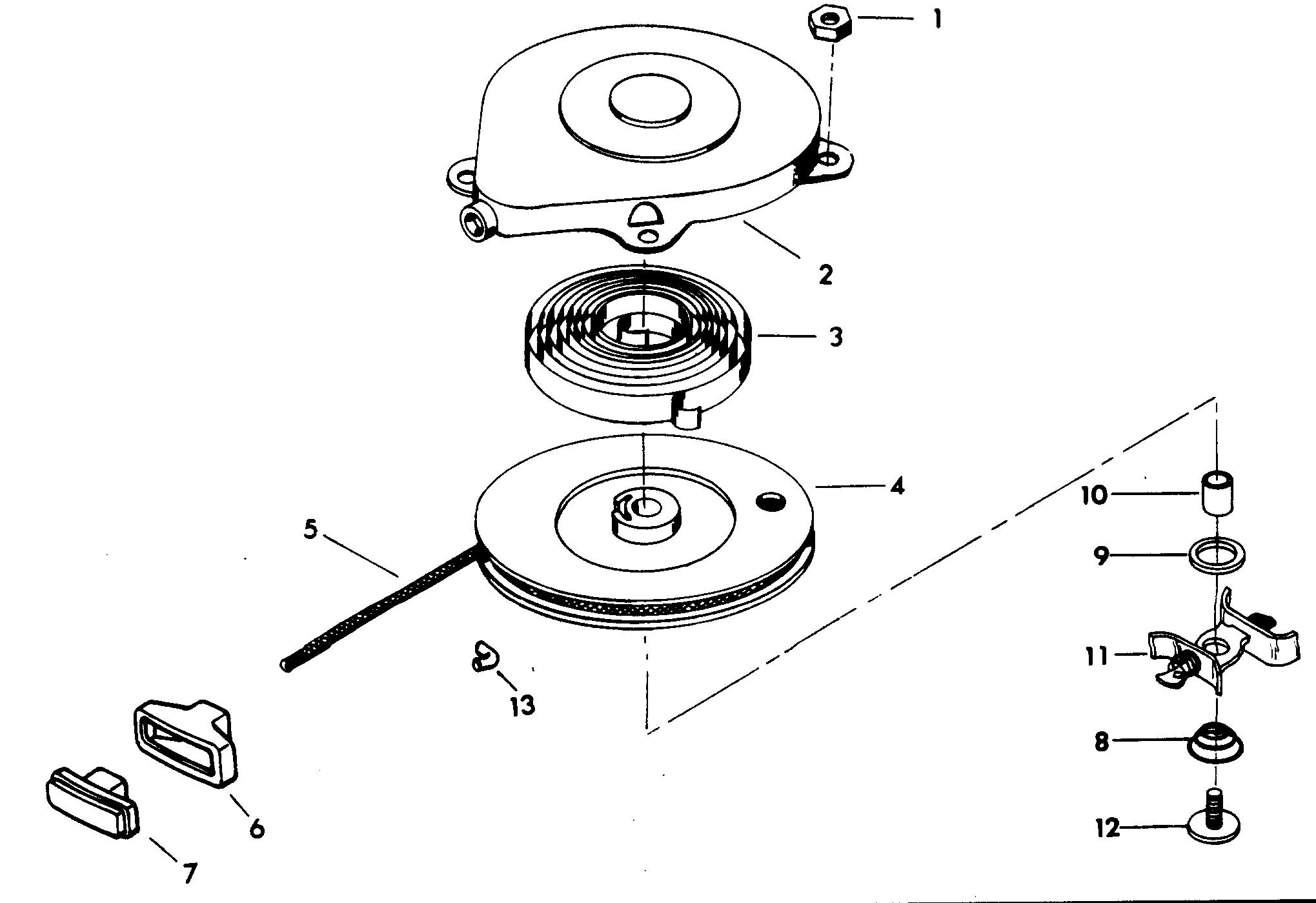 Каталог запчастей CHRYSLER 4 (1978) 47B8C — Запасные части