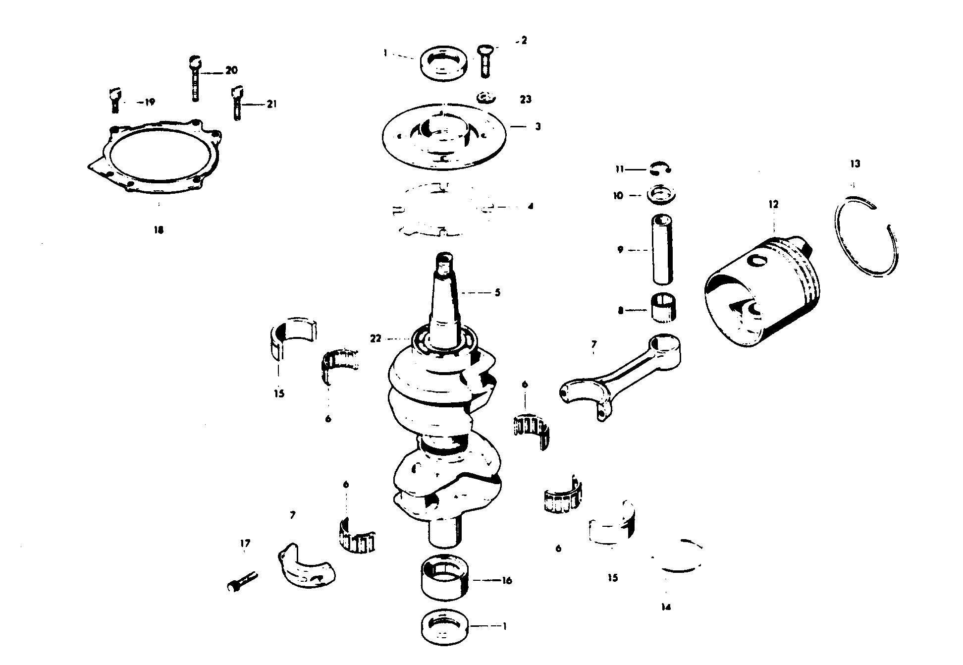 Каталог запчастей CHRYSLER 45 (1978) 452H8K — Запасные