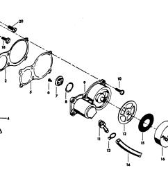 chrysler 45 1979 457b9k diagram of 45 1979 mercury chrysler outboard 459h9h alternator and [ 2108 x 1309 Pixel ]