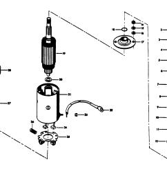 chrysler 45 1979 457b9k diagram of 45 1979 mercury chrysler outboard 459h9h alternator and [ 1899 x 1424 Pixel ]