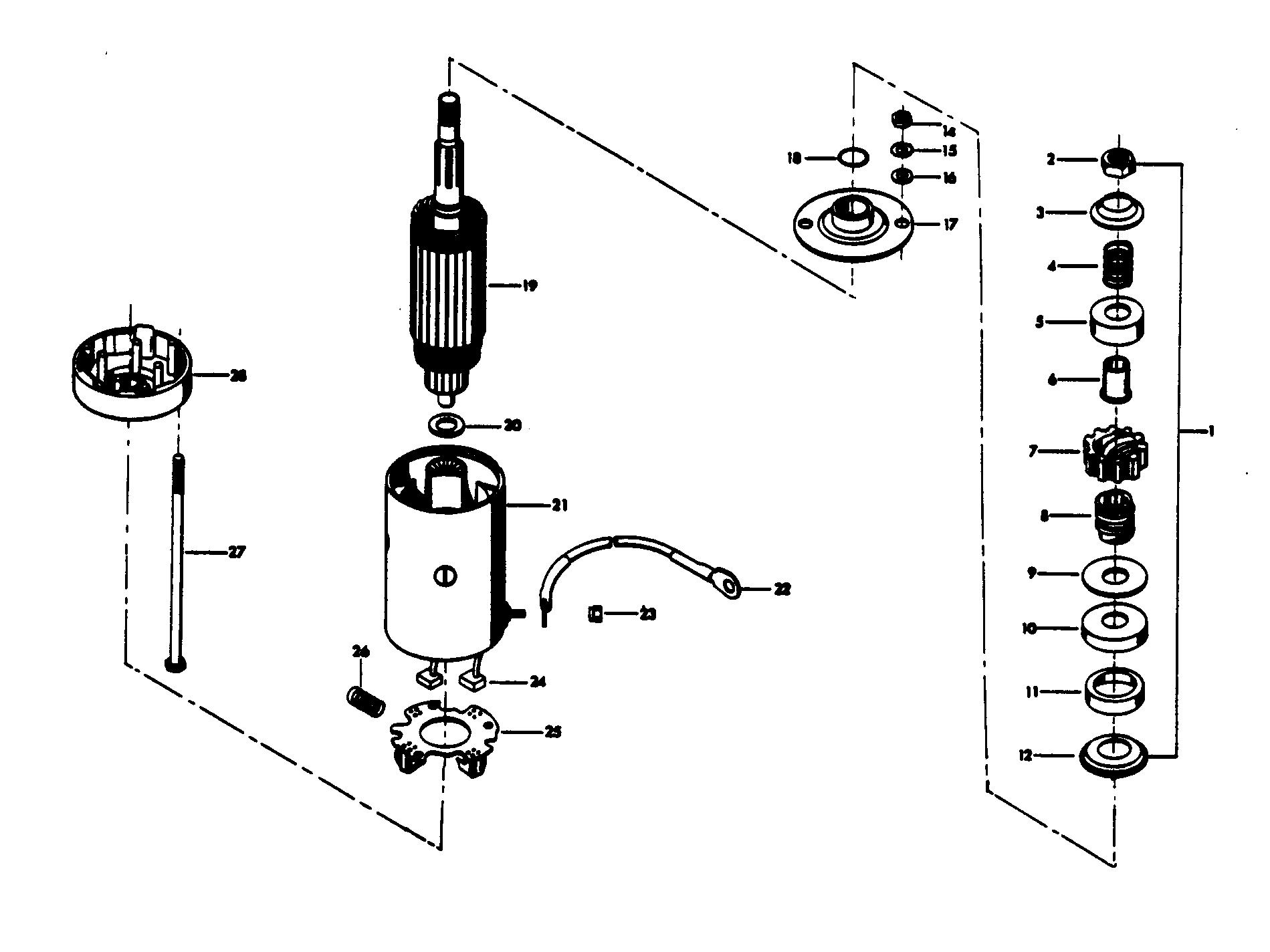 hight resolution of  chrysler 45 1979 457b9k diagram of 45 1979 mercury chrysler outboard 459h9h alternator and