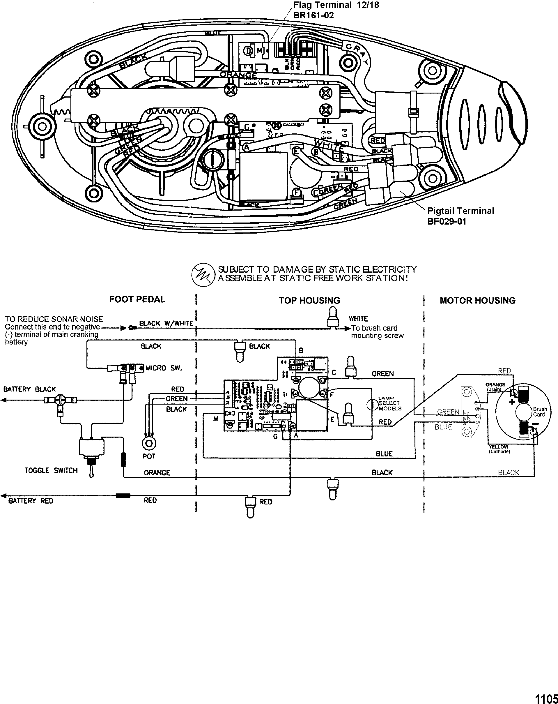 Wire Diagram(Model EF60V) (24 Volt) — Компания «Лакор»