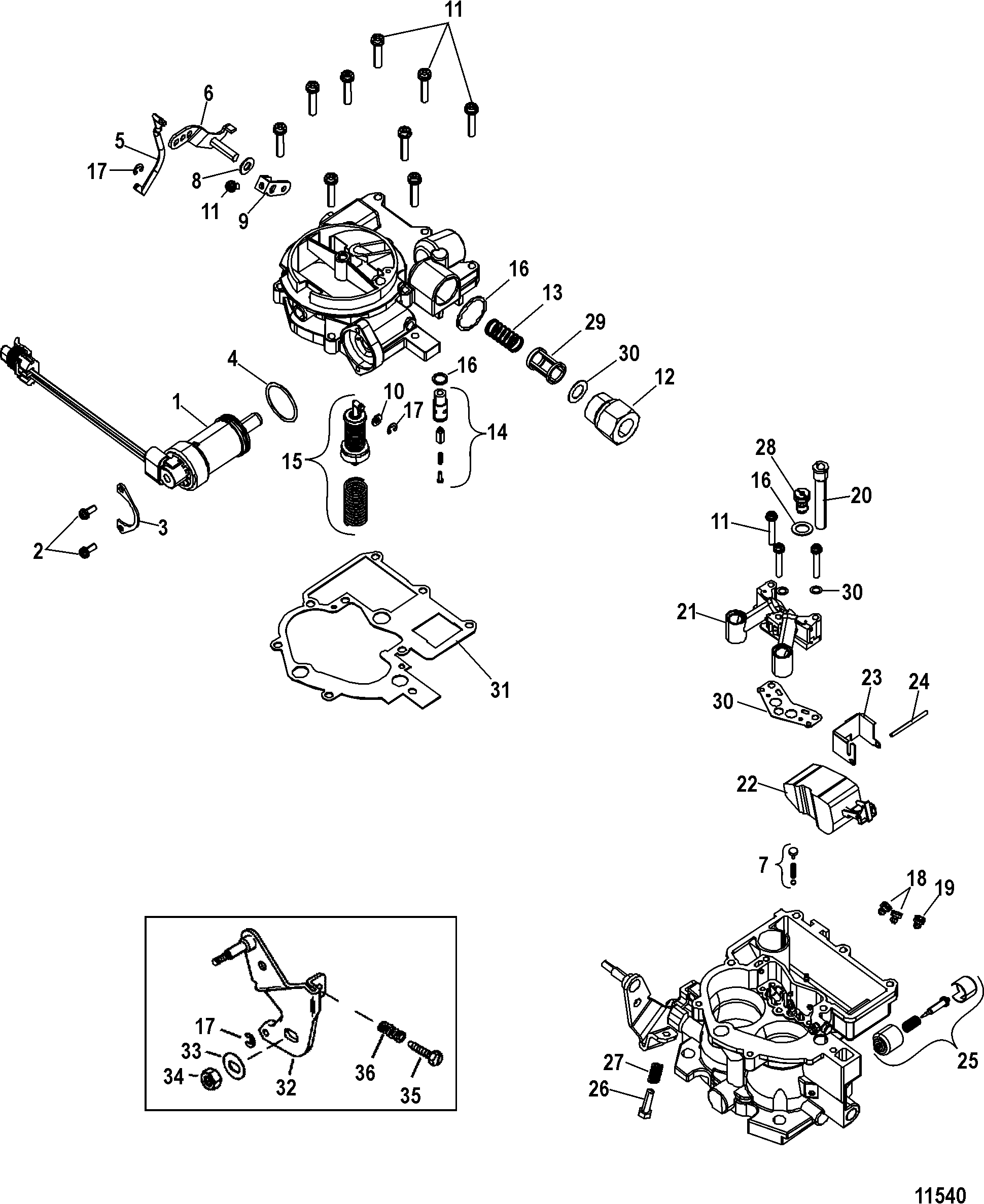 hight resolution of carburetor