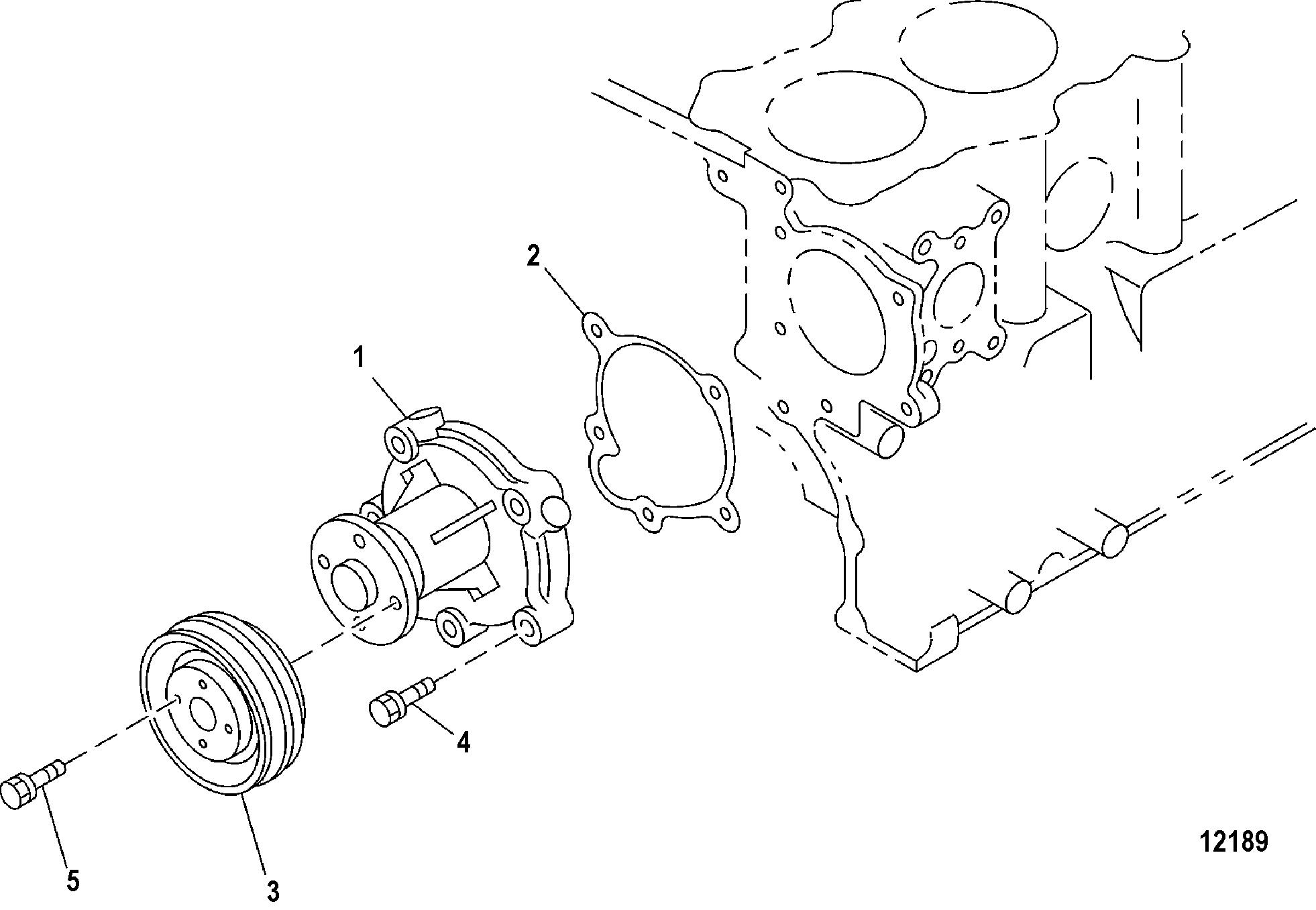 Каталог запчастей MERCRUISER остальные CMD 1.7 MS 120 I/L4