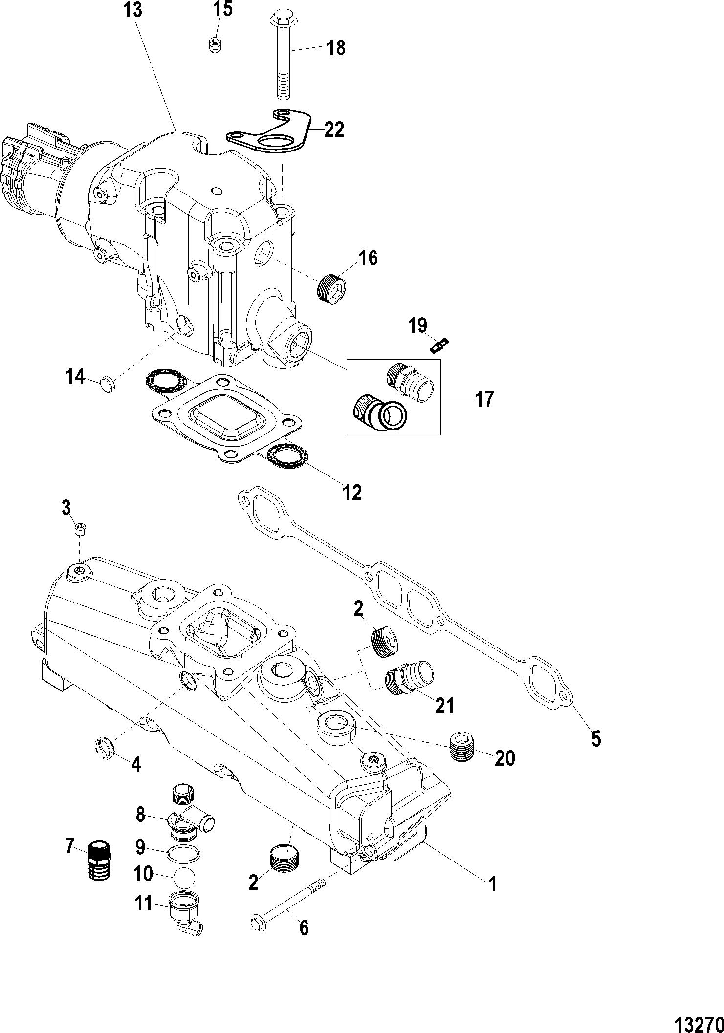 Mercruiser Mx 6 2l Mpi Bravo