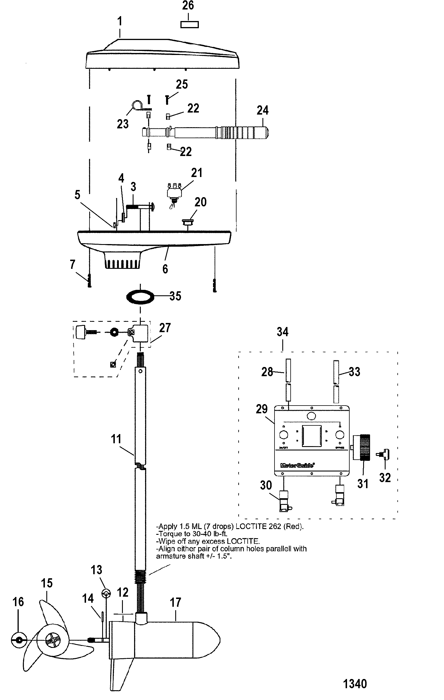 hight resolution of diagram of 1989 motorguide trolling motor 9001183uj wiring harness diagram also 24 volt trolling motor wiring