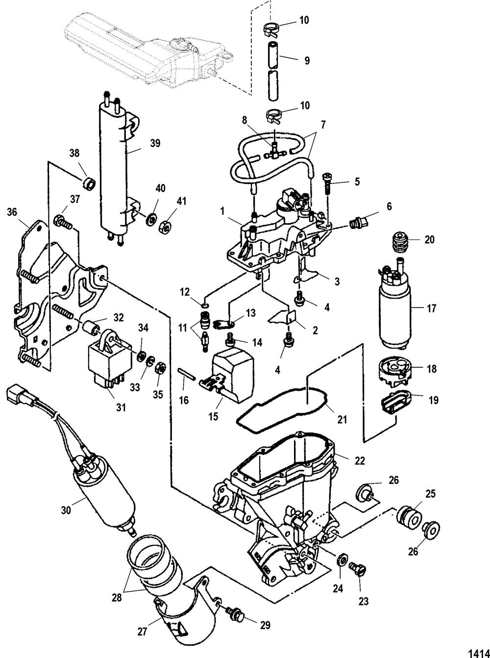 medium resolution of mercury 225 efi fuel filter auto electrical wiring diagram nandgate til crystal circuit diagram tradeoficcom