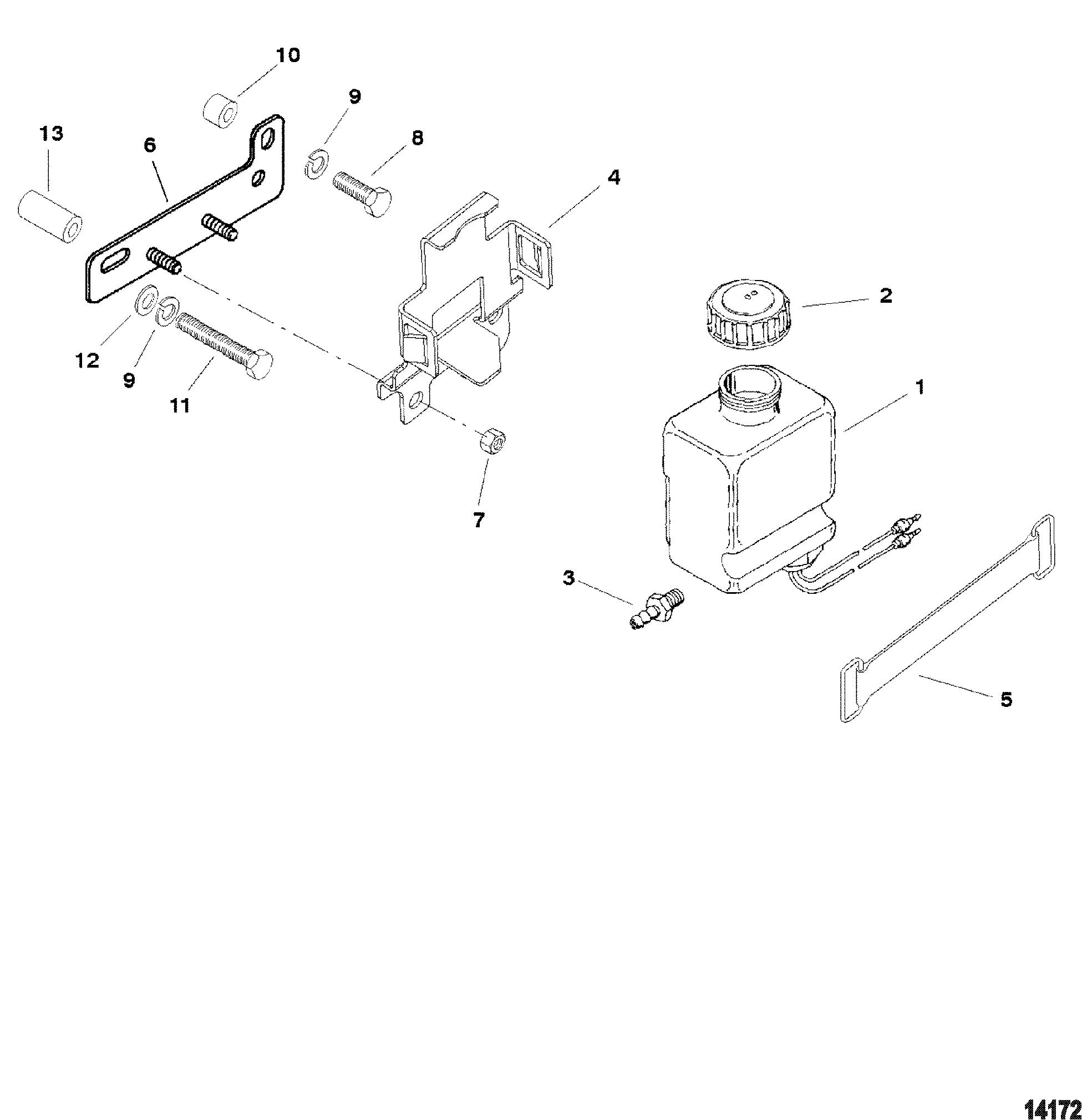 Каталог запчастей MERCRUISER остальные 5.7L EFI GM 350 V-8
