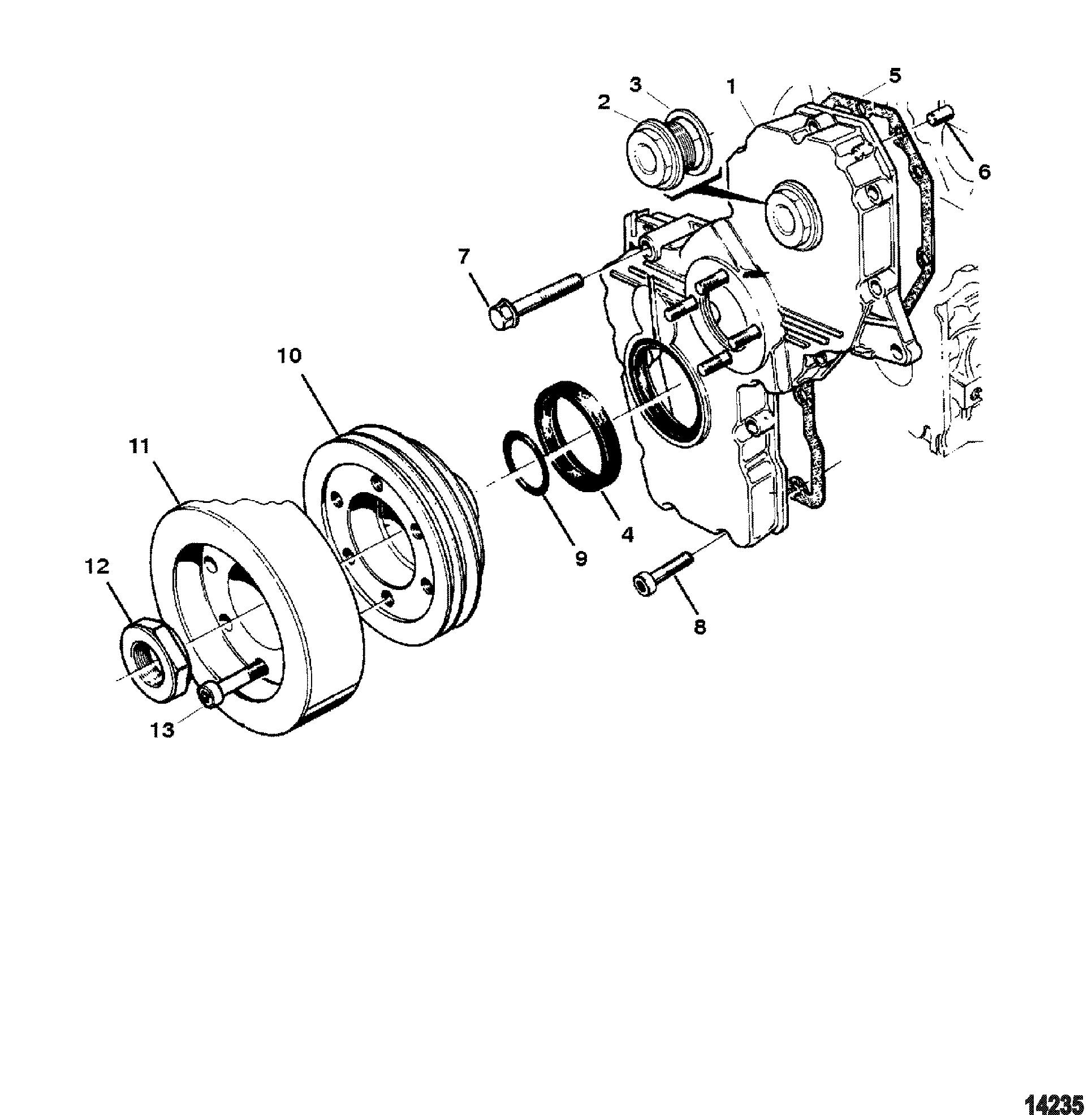 Каталог запчастей MERCRUISER остальные CMD 2.8 ES 165