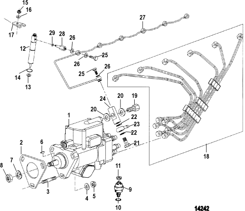small resolution of injection pump nozzle and lines