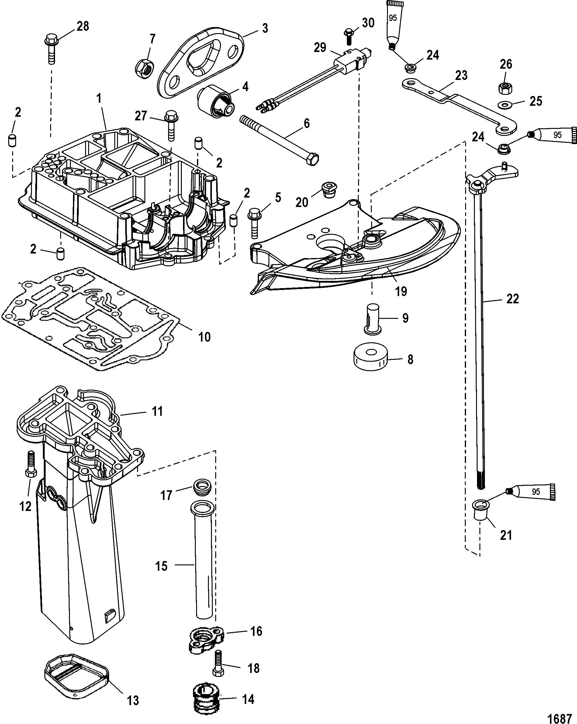 Mariner 90 Dfi 3 Cyl 1 5l 1b