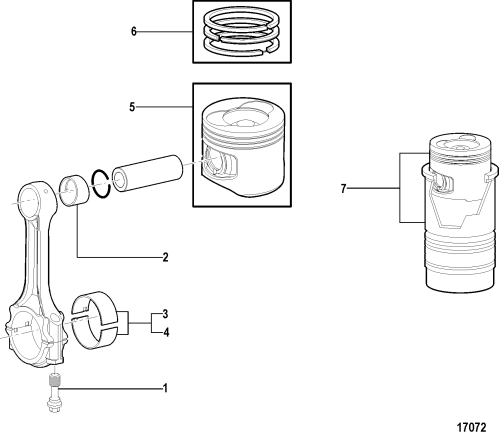 small resolution of connecting rod and piston