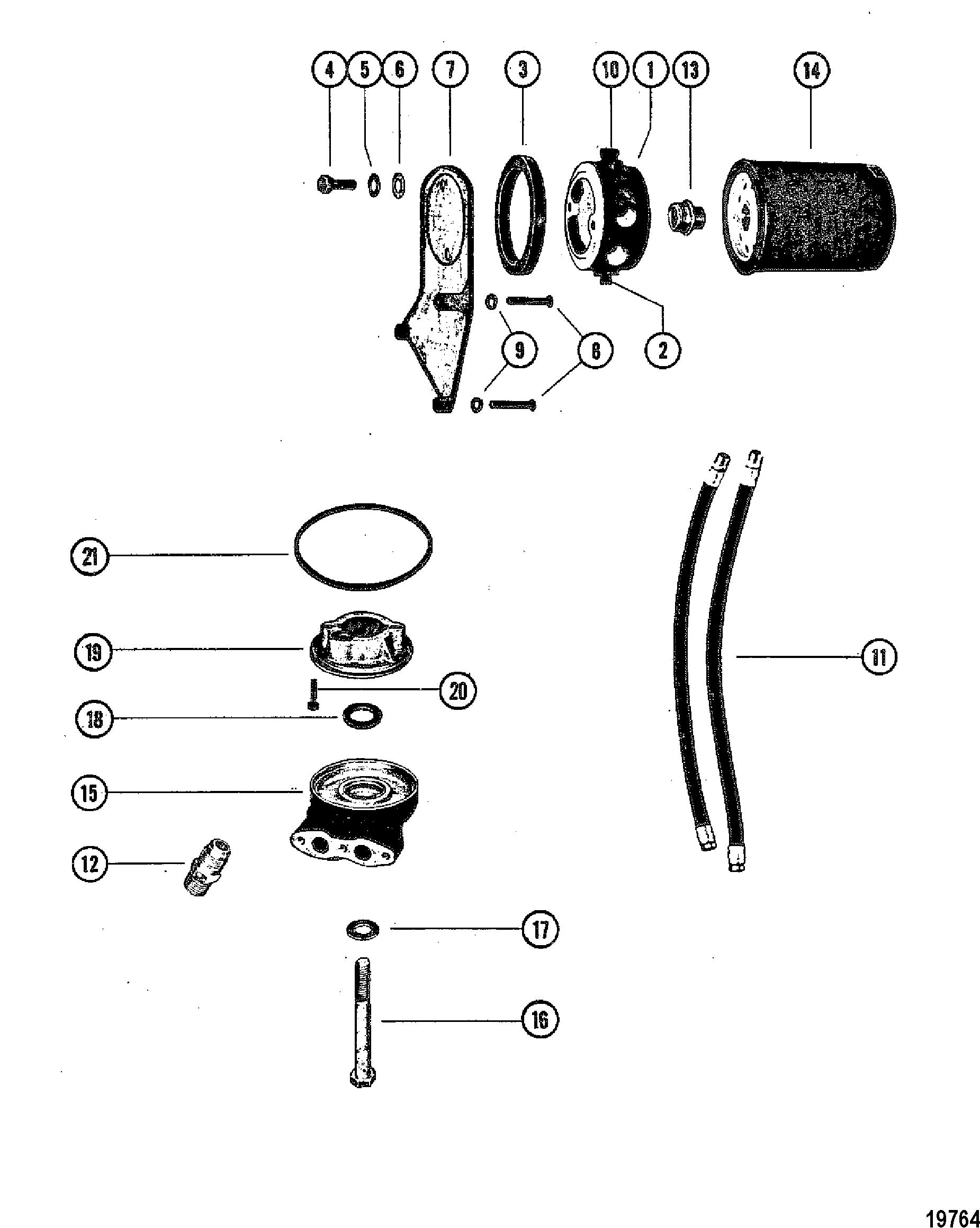 Каталог запчастей MERCRUISER остальные 440 TRS GM 454 V-8