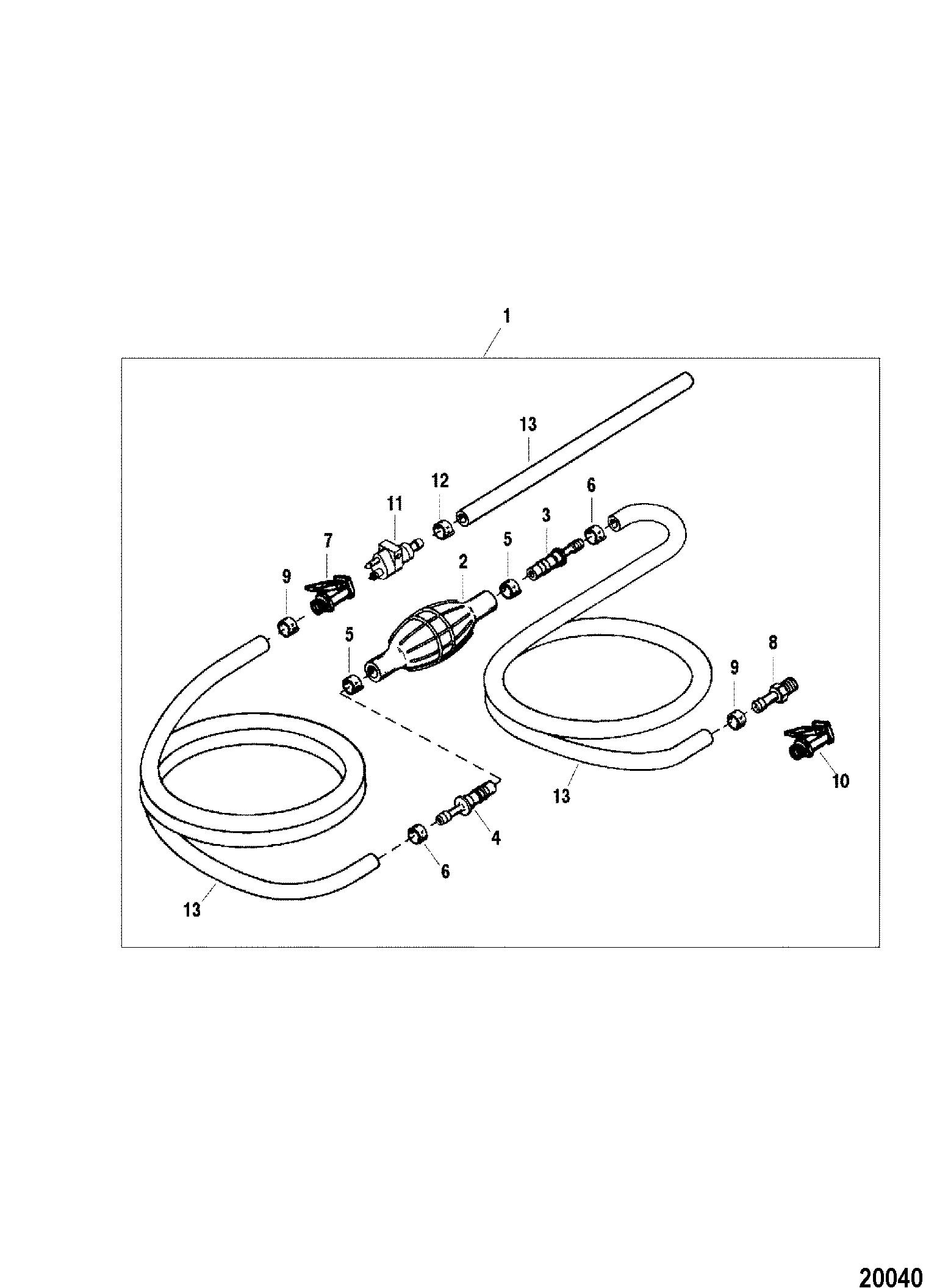 Каталог запчастей FORCE 120 H.P. (1996) 0E138600 THRU