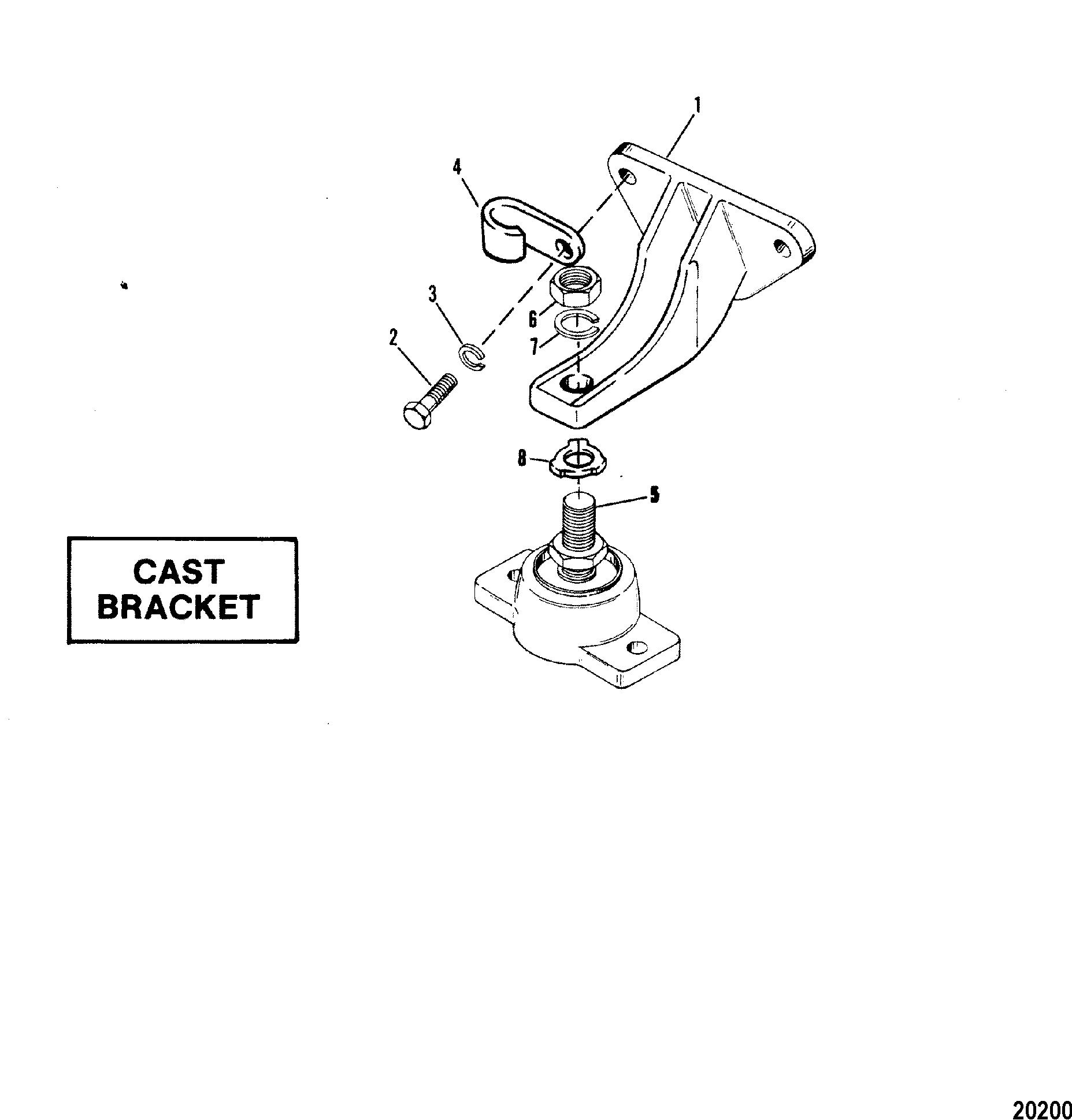 Mercruiser 330 Gm 454 V 8