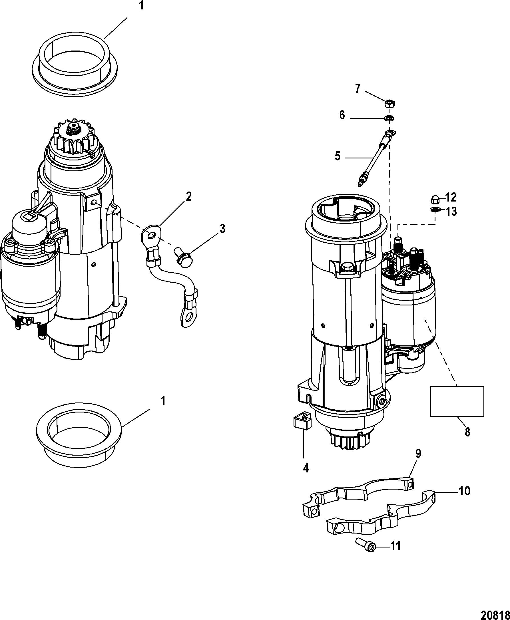 Каталог запчастей MERCURY 4-х тактные 115 EFI (4-STROKE