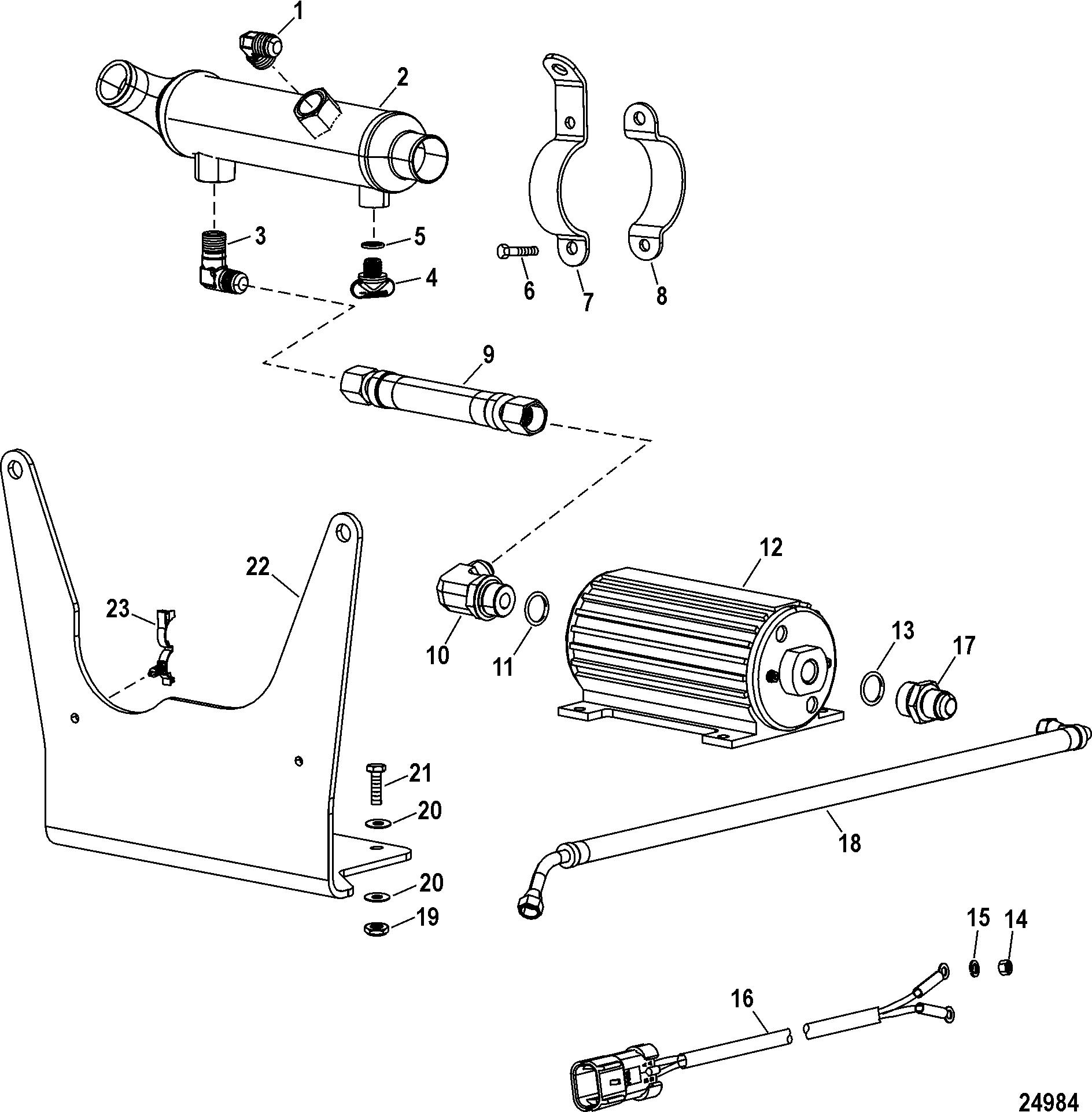 Race Sterndrive 662 Sci 0m Thru