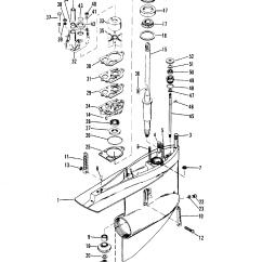 Mercruiser Alpha One Parts Diagram 1968 Chevelle Wiring Каталог запчастей остальные R Mr