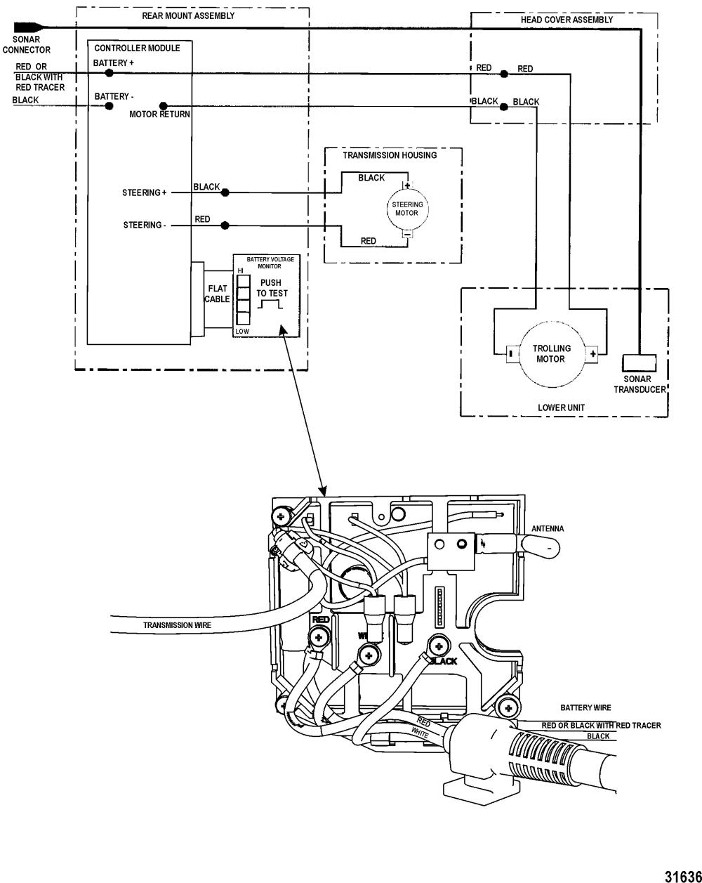 medium resolution of  wiring diagram fresh 2 battery boat trolling motor motorguide brute series 9b000001 rh mercury lakor com