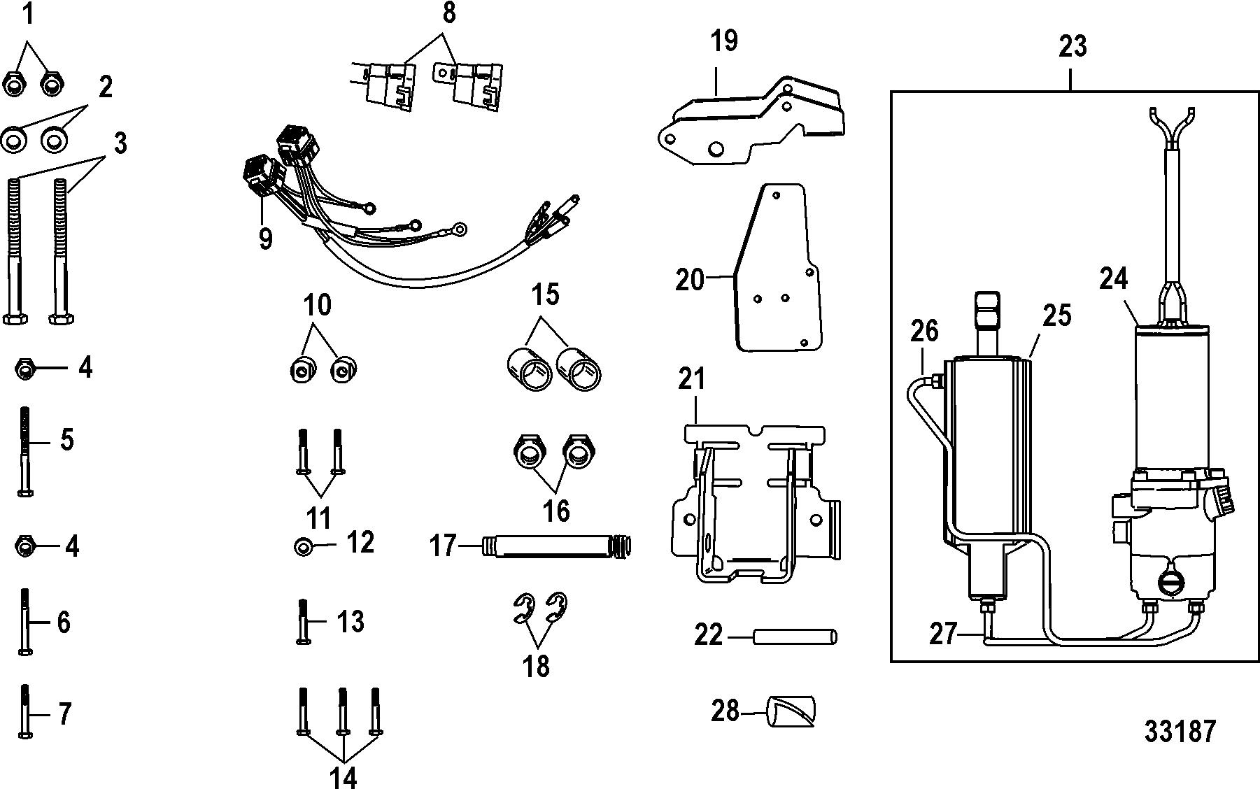 Каталог запчастей MERCURY 4-х тактные 9.9 (4-STROKE)(209cc