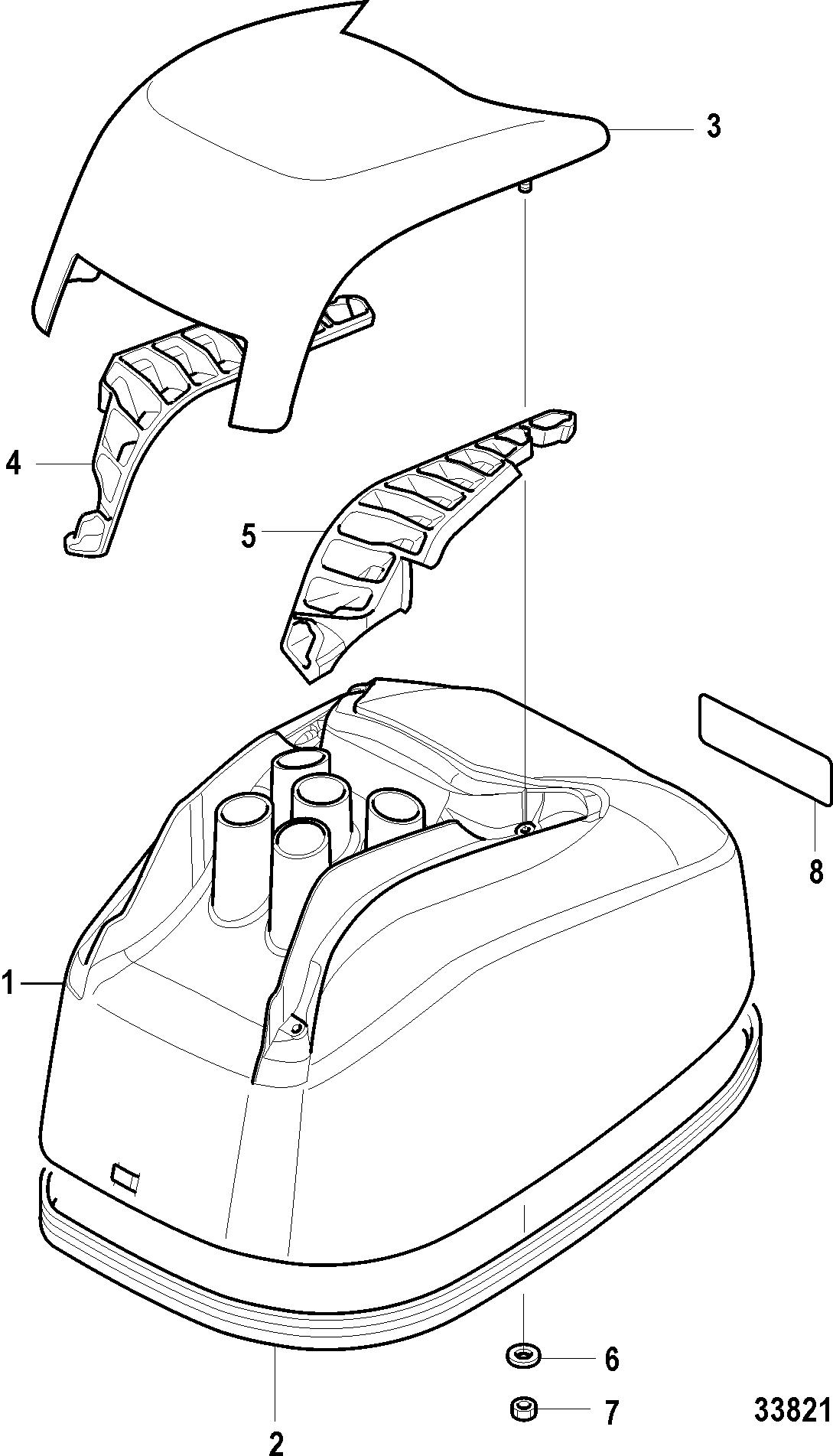 Каталог запчастей MERCURY 4-х тактные 20 Carb(2CYL)(4