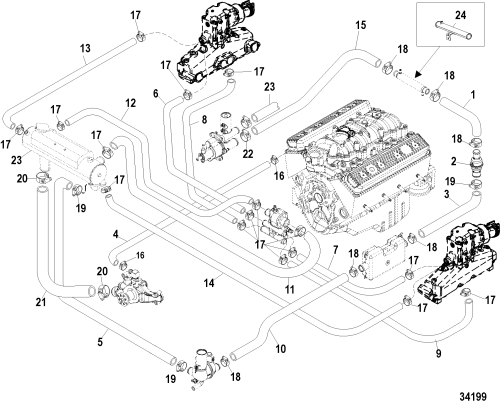 small resolution of mercruiser 5 0 engine diagram wiring diagram for you rh 2 17 1 carrera rennwelt de chevy water pump flow diagram mercruiser alpha one diagram