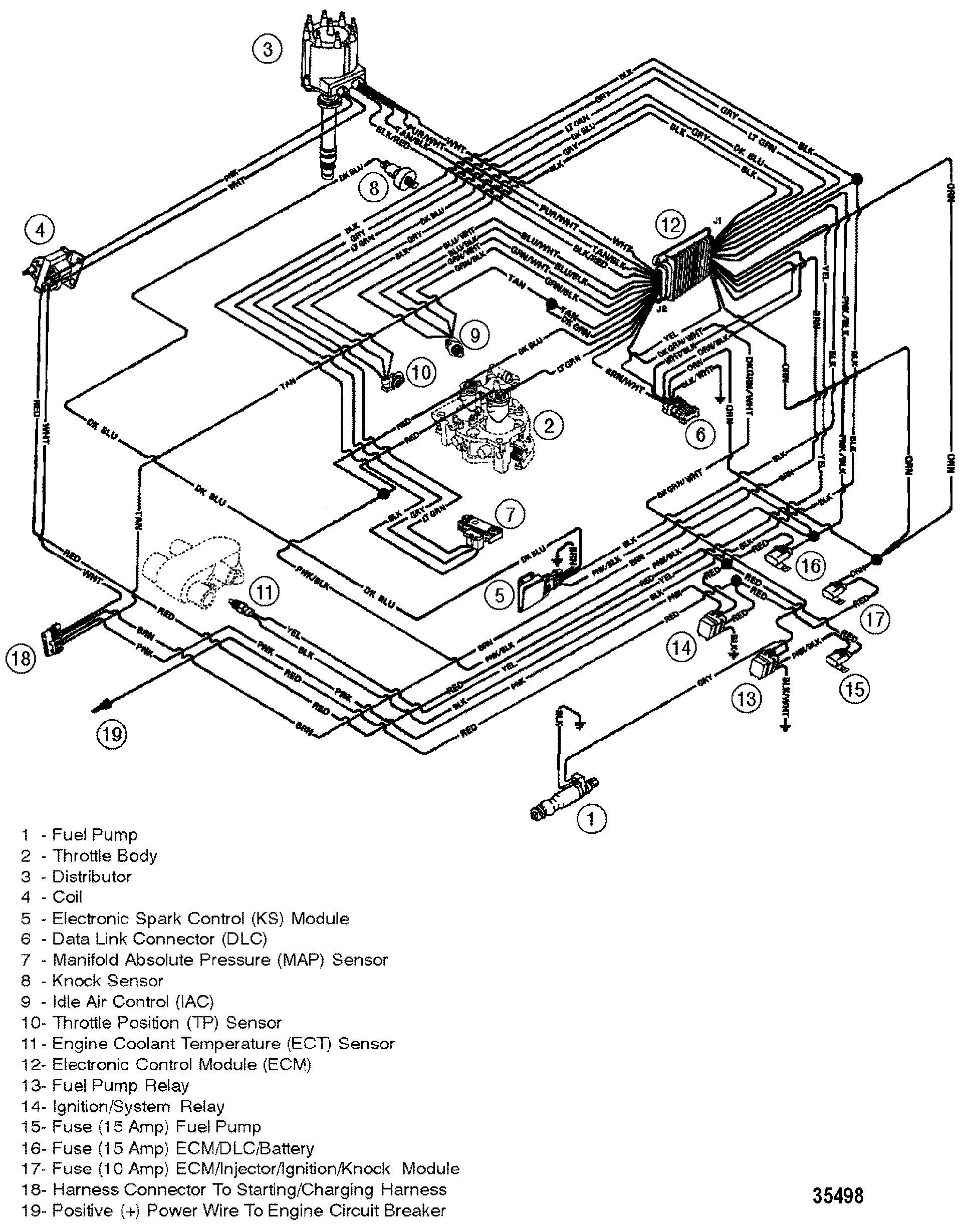 Каталог запчастей MERCRUISER остальные 5.0L EFI GM 305 V-8