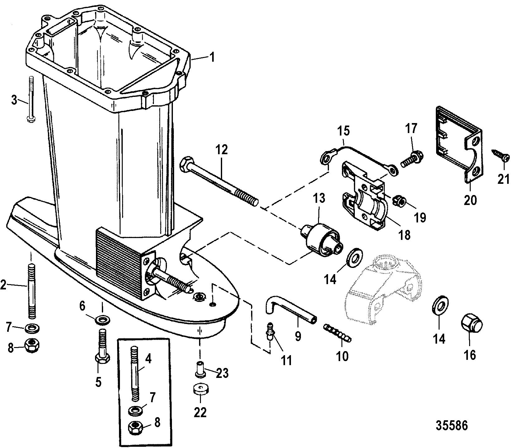 Каталог запчастей MERCURY 2-х тактные 60 (3 CYL.) 0G590000
