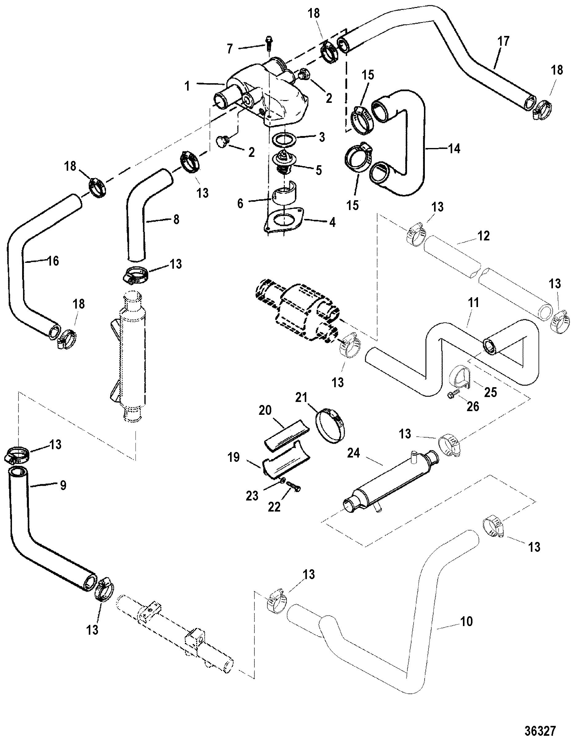 Mercruiser 454 Mag Mpi Bravo