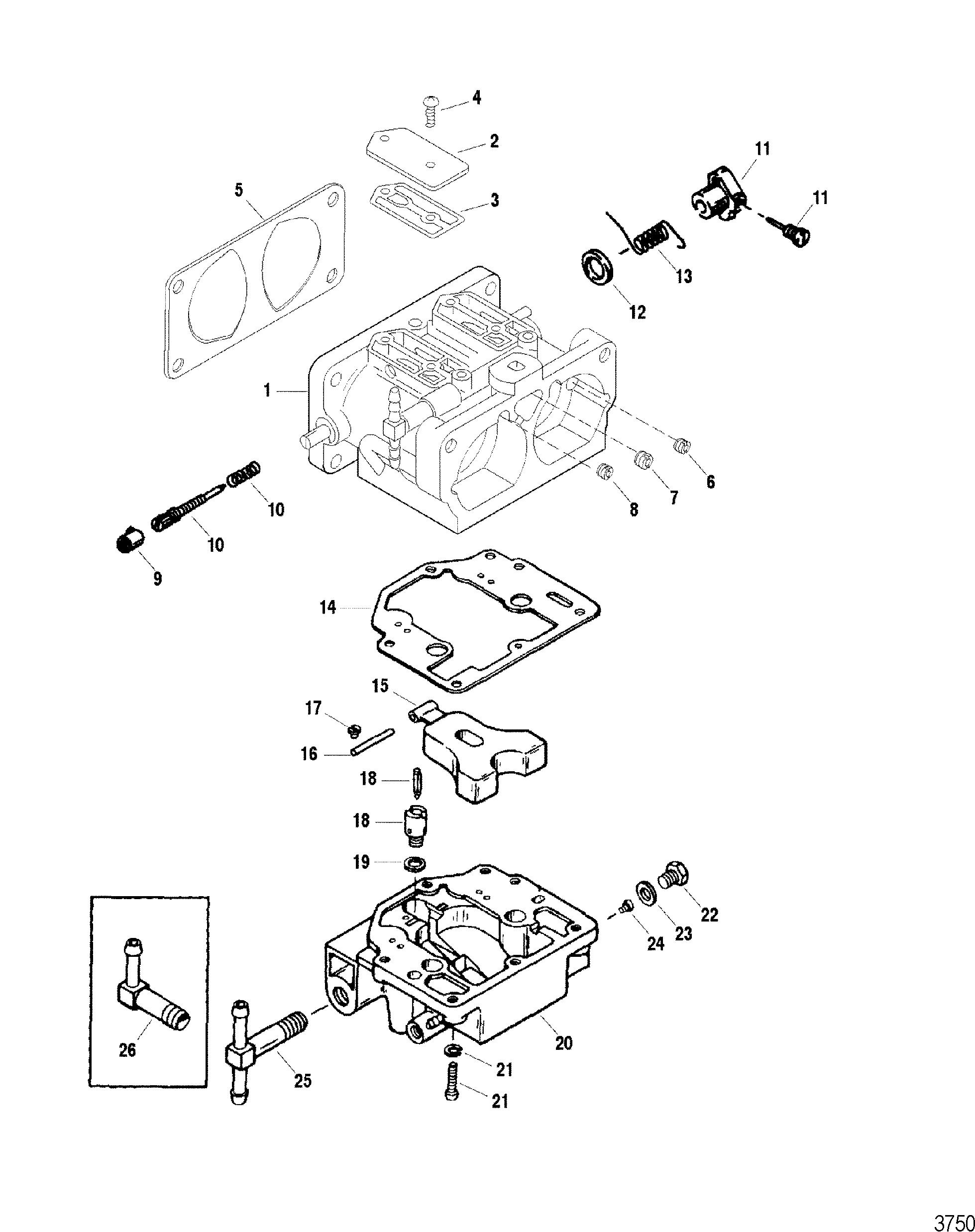 Каталог запчастей SPORTJET 175XR2 JET DRIVE (PUMP
