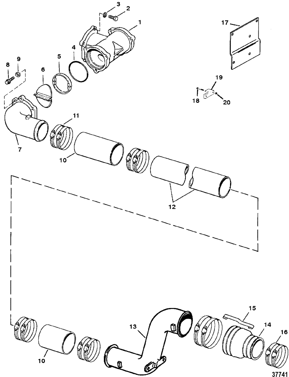 medium resolution of driveshaft extension components jackshaft models
