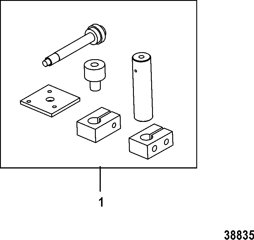 Каталог запчастей MARINER 20 Carb(2CYL)(4-STROKE) 0R235168
