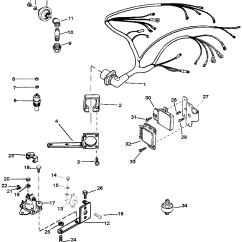 Mercruiser 260 Alternator Wiring Diagram Tail Light Ford F150 Каталог запчастей остальные 7 4l Bravo Gen V