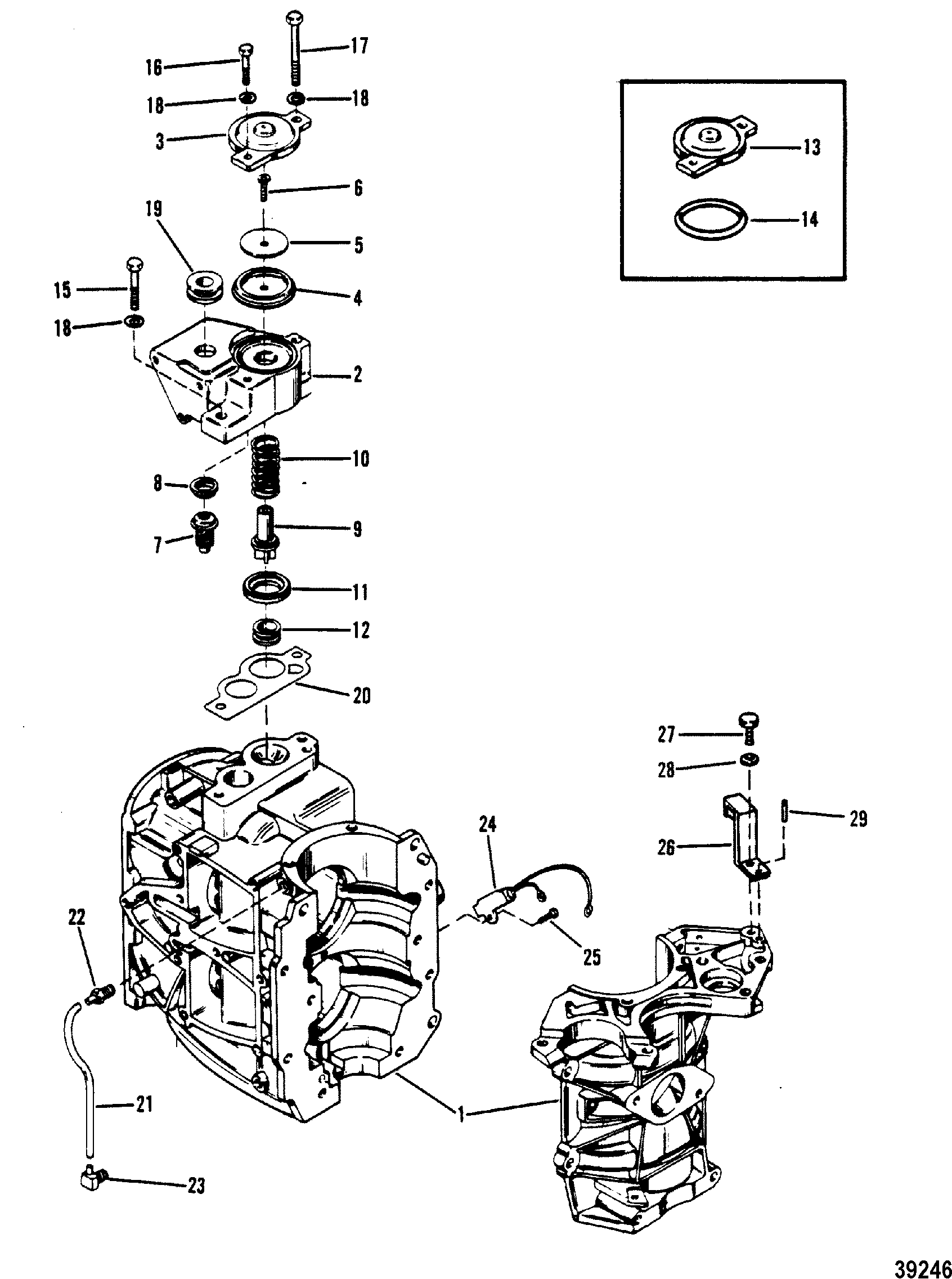 58s58L [DIAGRAM] Hp 2 Cylinder Mercury Outboard Control