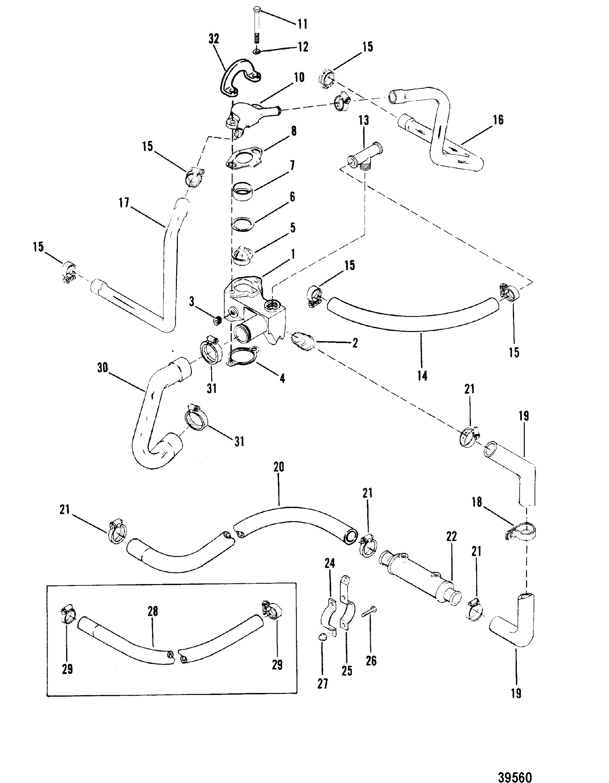 Mercruiser 260 4 Bbl Gm 305