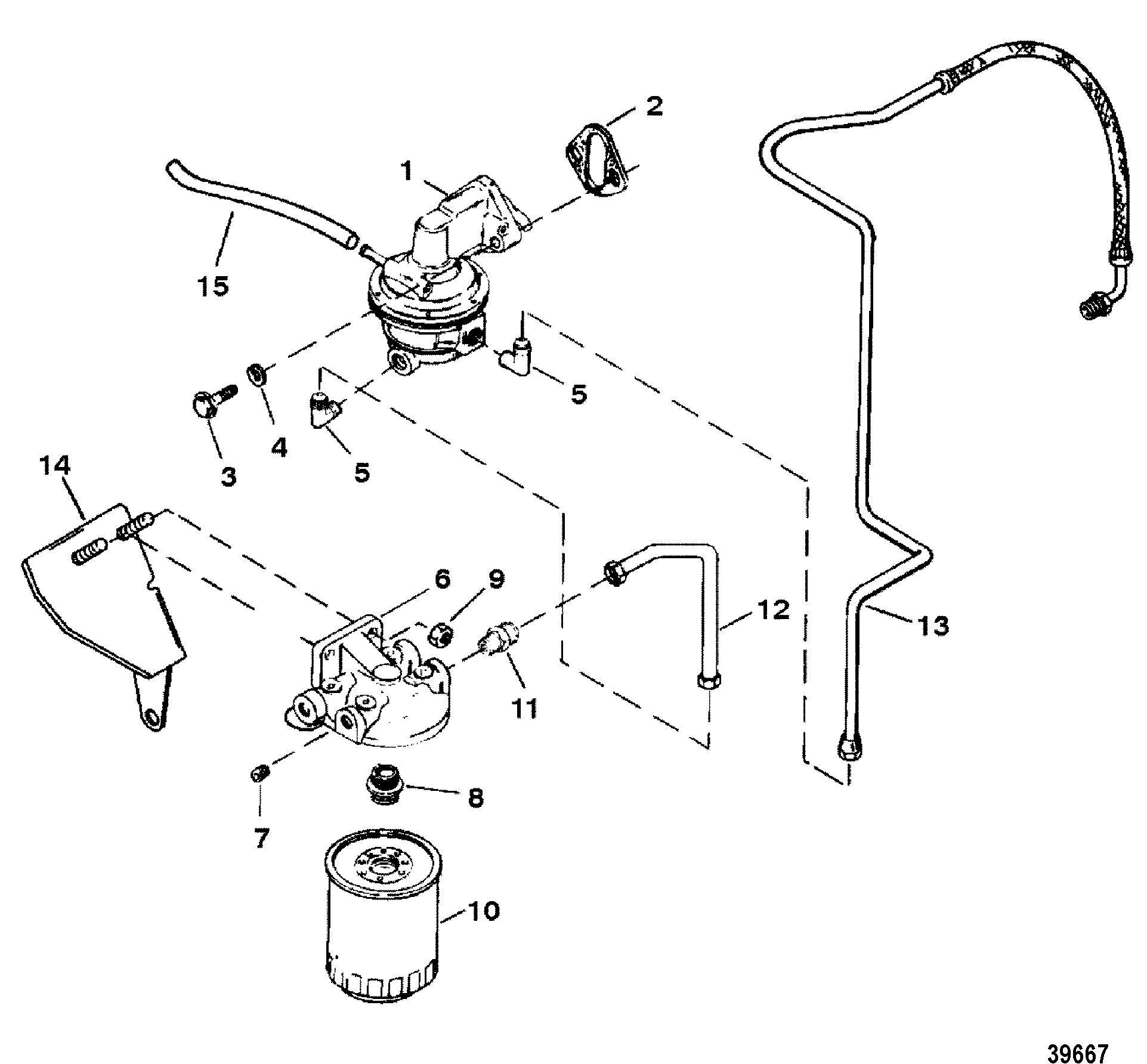 Каталог запчастей MERCRUISER остальные 454 EFI (GEN. V) GM