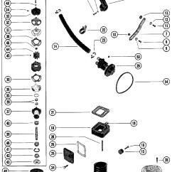 Mercruiser 260 Alternator Wiring Diagram 1999 Acura Integra Stereo Каталог запчастей остальные 4 Bbl Gm 350