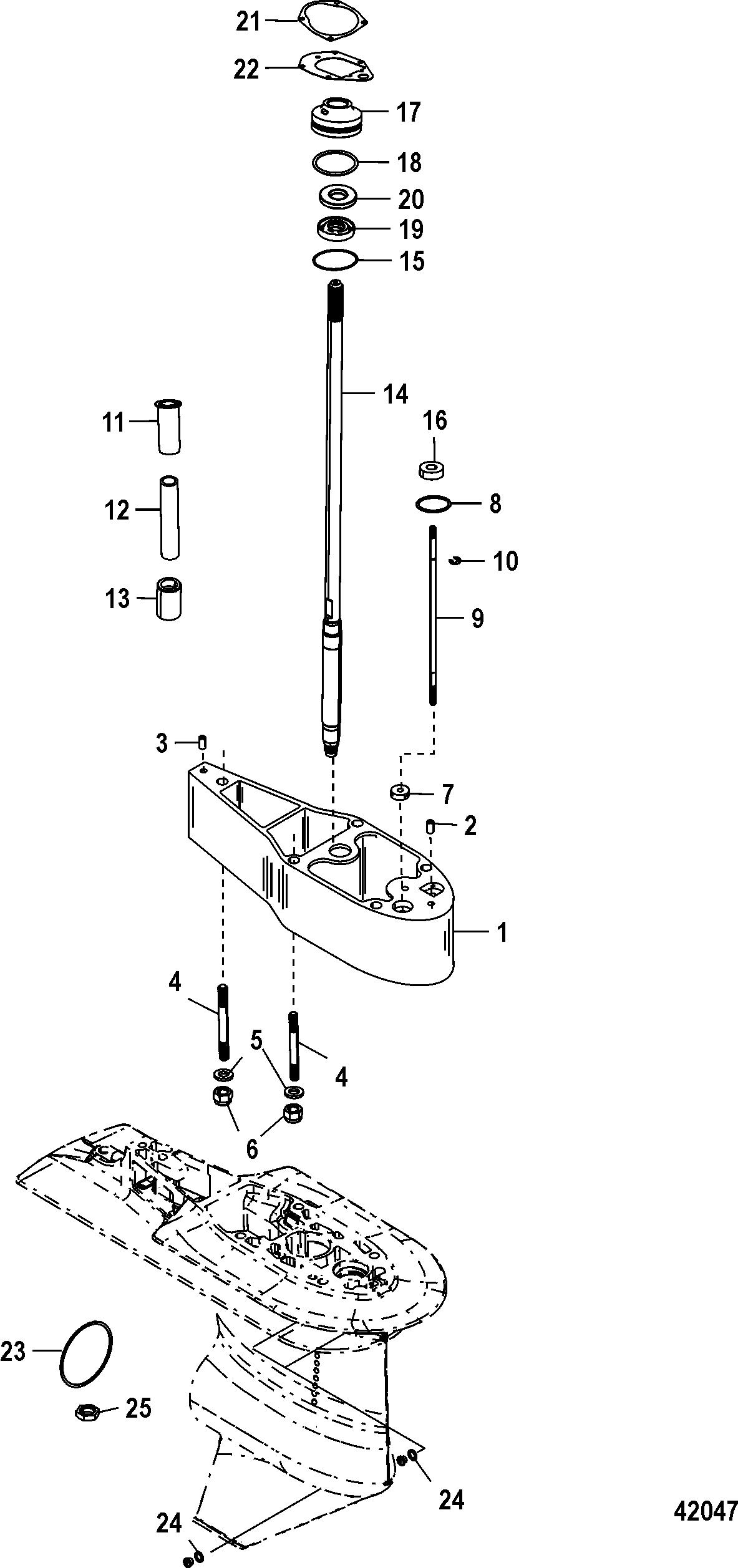 Каталог запчастей MERCURY 4-х тактные 50 EFI (4 CYL.)(4