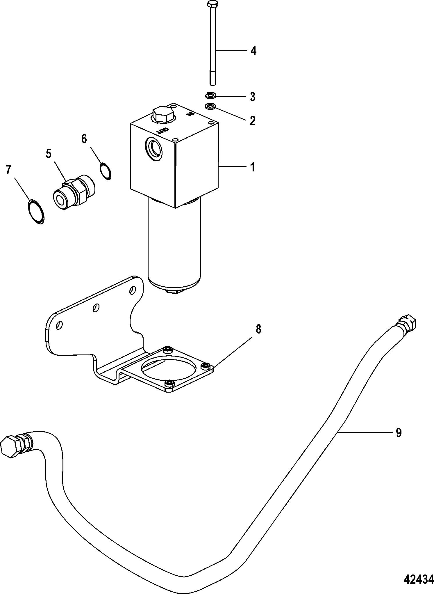 Каталог запчастей MERCRUISER Diesel CMD QSD 4.2 ES 320