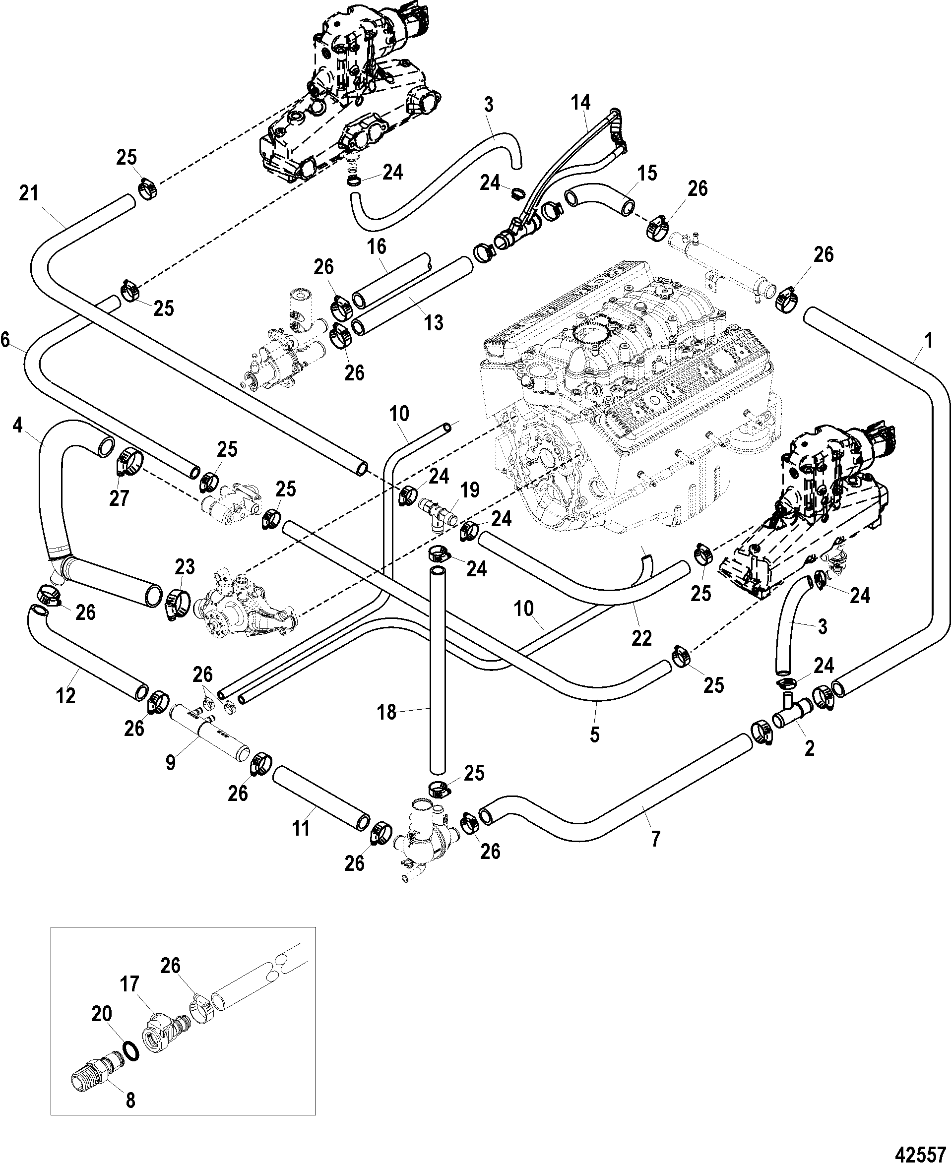 hight resolution of standard cooling system