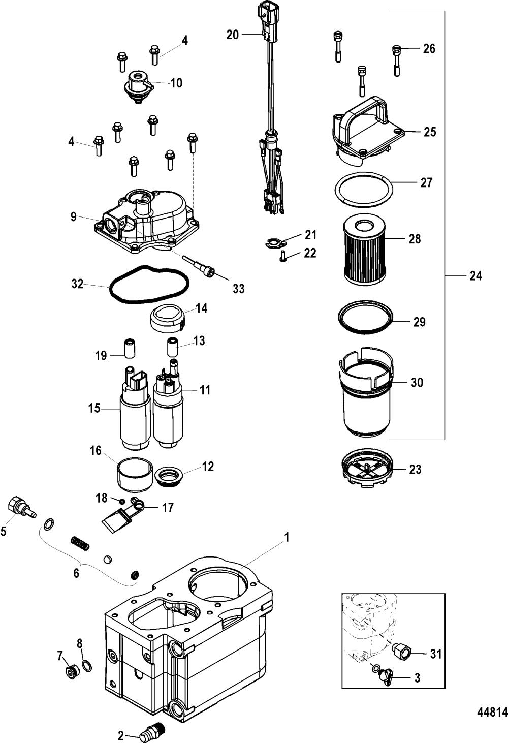 medium resolution of fuel module components bravo