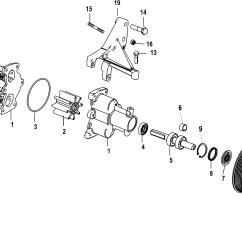 Mercruiser Water Pump Diagram John Deere 2305 Wiring Katalog Zapchastej Ostalnye 383 Mag Stroker 1g400000 Up Sea Assembly
