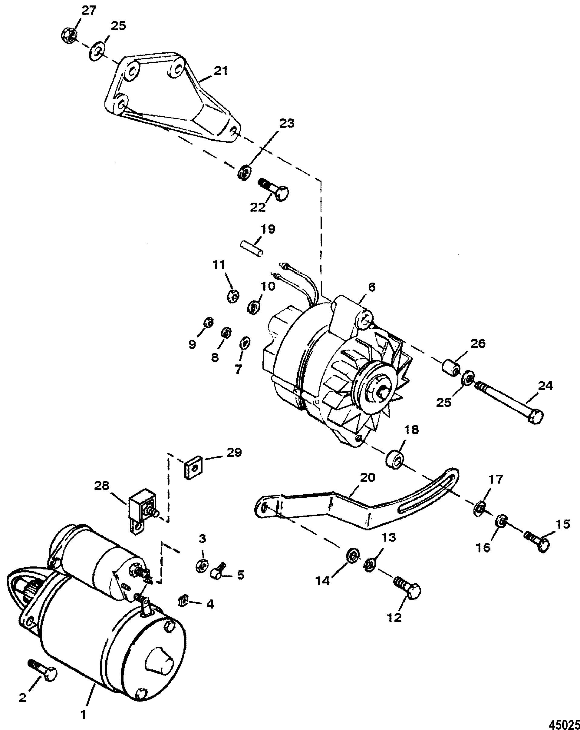 Mercruiser 350 Mag Efi Ski