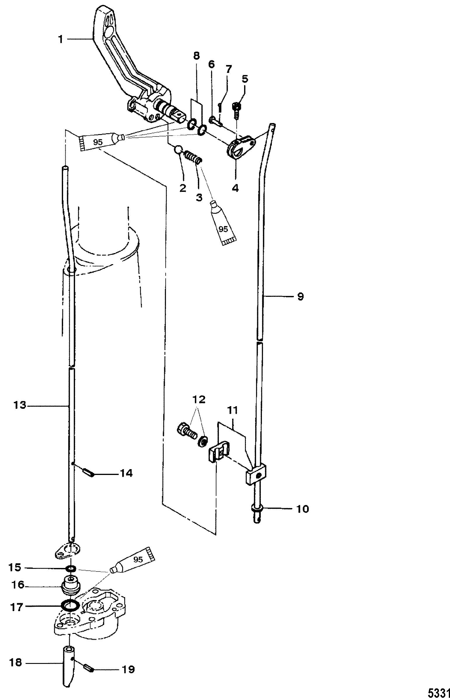Каталог запчастей MARINER 4 (2-STROKE) 0P401000 & Up