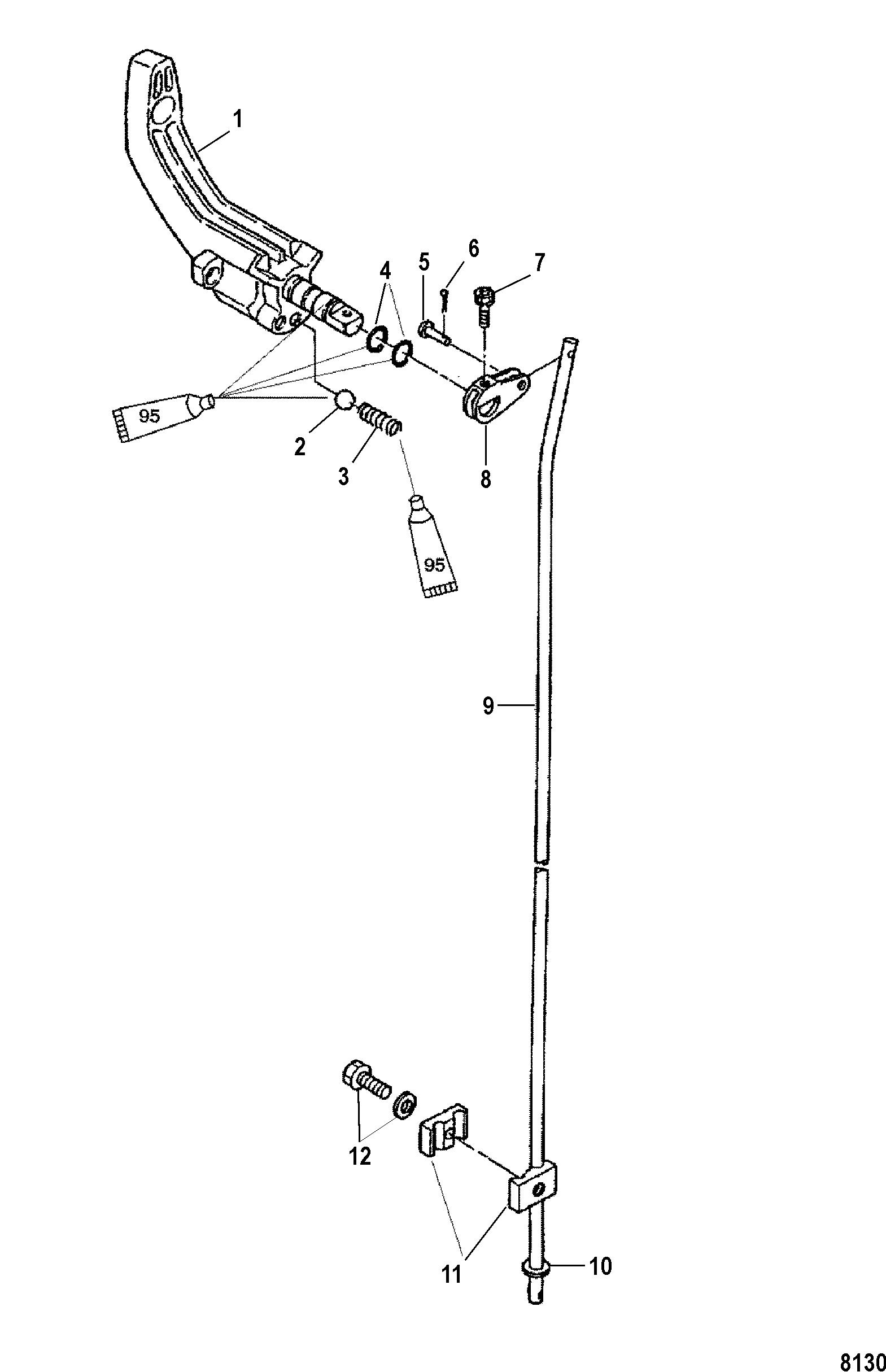 Каталог запчастей MERCURY 4-х тактные 6 (4-STROKE