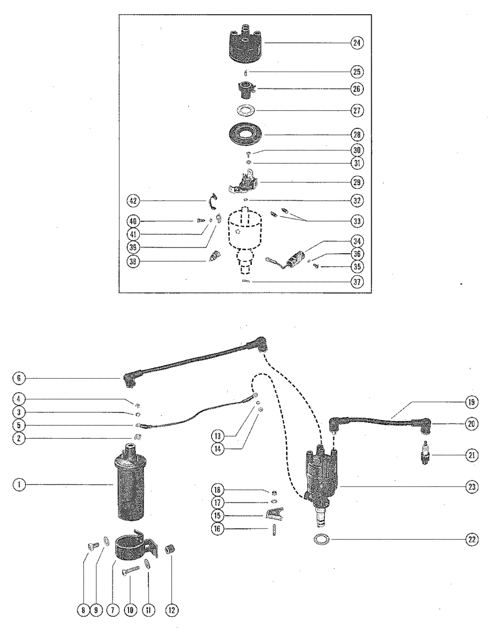 medium resolution of coil wiring diagram 1974 mercruiser 888 302 wiring diagrams 1974 mercruiser wiring diagram